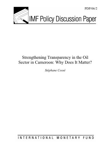 Strengthening Transparency in the Oil Sector in Cameroon: Why Does it Matter?