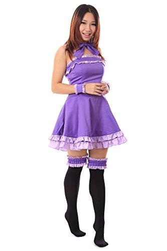 WS_COS Vampire Knight Cosplay Costume Cross Yuki Kurosu Night Dress V1 Set CUST.