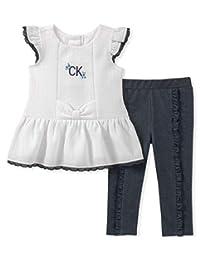 Calvin Klein - Juego de Leggings para bebé (2 Piezas)