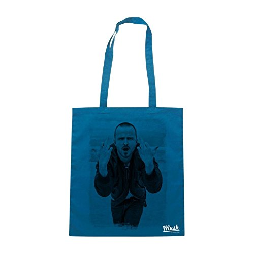 Borsa Jesse Pink Man Breaking Bad - Blu Navy - Film by Mush Dress Your Style
