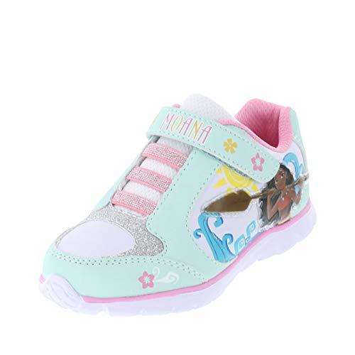 Disney Princess Moana Mint Pink Girls' Toddler Runner 11.5 Regular