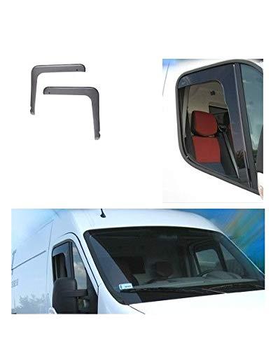 IVATECH D/éflecteur dair pour Les vitres Avant de Cabine am/énag/és sur Renault Master II