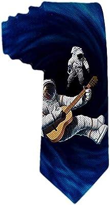 Corbata para hombre Ripped Black Hole Astronaut Toca las corbatas ...