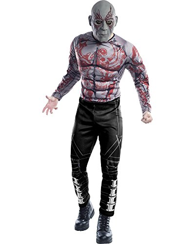 Rubie's Costume Co Guardians of The Galaxy Drax Costume, GOTG Vol. 2, -