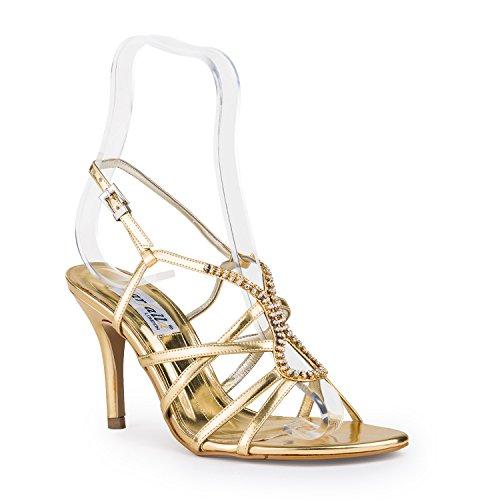 FARFALLA Luxury Shoes Gold XuwGn2h