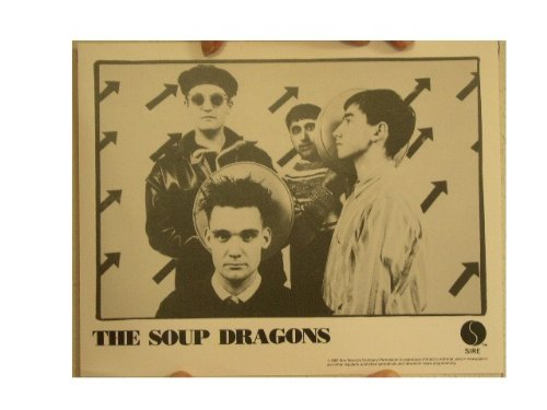 The Soup Dragons Press Kit and Photo by RhythmHound