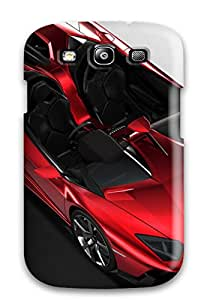 Queenie Shane Bright's Shop Hot High Grade Flexible Tpu Case For Galaxy S3 - Lamborghini Aventador J 23
