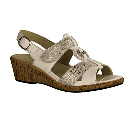 Waldlaufer Helinda Ladies Sandal White MYnkcYe36A