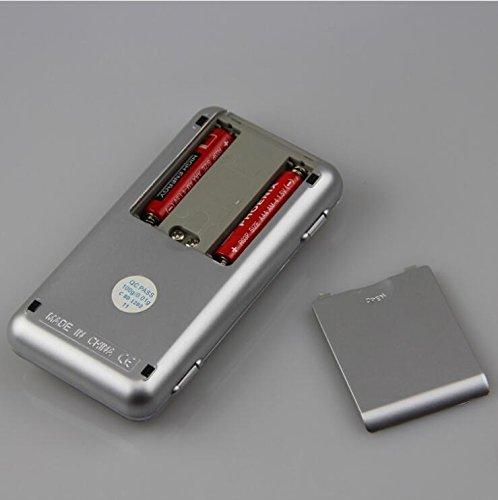 Bilancia digitale LCD Display Lezed di precisione mini bilancia elettronica della Bilancia elettronica portatile gioielli di scala 0.1 G precisione bilance elettroniche Argento
