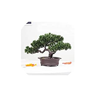 1PCS Artificial Plants Bonsai Small Tree Pot Plants Fake Flowers Potted Ornaments for Home Decoration Hotel Garden Decor New,D 83
