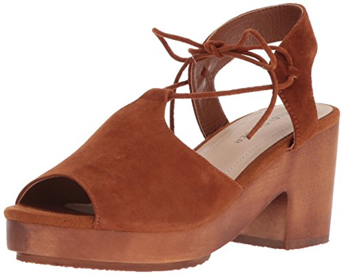 Kelsi Dagger Brooklyn Women's Miriam Heeled Sandal, Timber, 7.5 M - Shoes Timber Wood