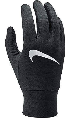NIKE Women's Dry Element Running Gloves (Black, Small)