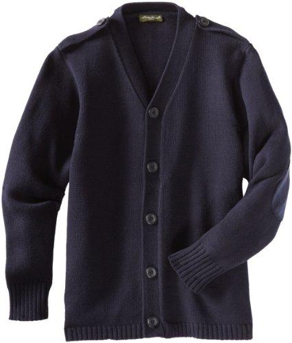 Eddie Bauer Boys' Sweater (More Styles Available), True Navy, 14/16 by Eddie Bauer