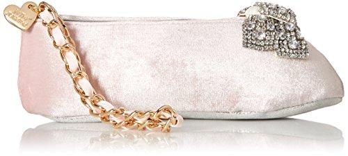 Betsey Johnson Ballet Slipper Kitch Wristlet Clutch, Pink by Betsey Johnson