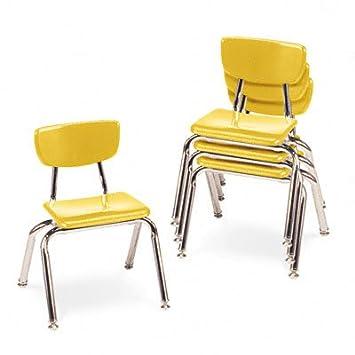 Amazon.com: virco 3000 Series aula Sillas, asiento: 12H ...