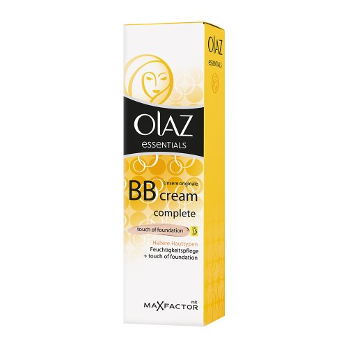 Olaz Essentials Complete BB Creme ToF, Hell, 50 ml