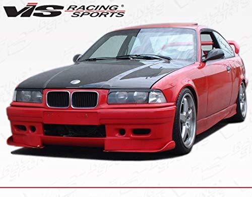VIS Racing (VIS-WXY-970) Black Carbon Fiber Hood OEM Style for BMW 3 SERIES(E36) 2DR 92-98