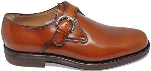 a Cuero Calidad 1254 Primera Pala EN Zapato Mano Lisa Hecho Piel Shoes Becerro Inca de George´s Hebilla de Color Mallorca W8fwaxFTqH