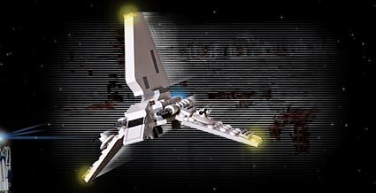 LEGO Star Wars Mini Imperial Shuttle (4494)