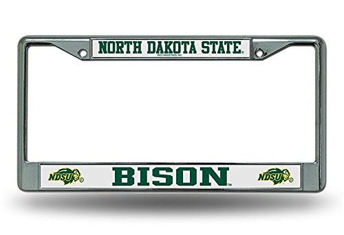 Rico Industries NCAA North Dakota State Chrome Plate Frame ()