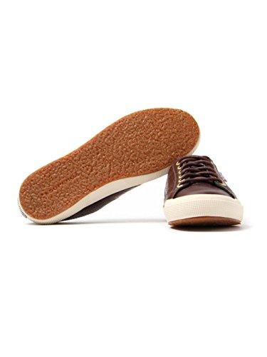 Superga 2750-fglwembossedcocco - Zapatillas de deporte Mujer Bordeaux