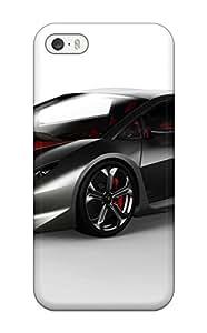 Premium USWufny6317nXGou Case With Scratch-resistant/ 2010 Lamborghini Sesto Elemento Concept Case Cover For Iphone 5/5s