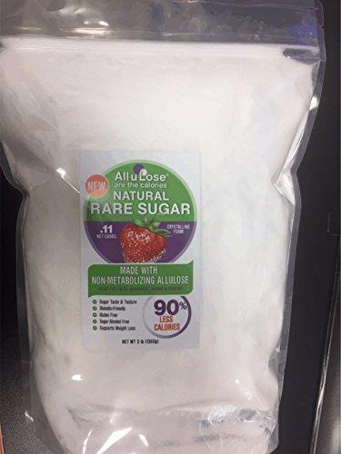 All-u-Lose Natural Rare Sugar Sweetener, Crystalline Allulose -- 3 lb. Stand-up Pouch