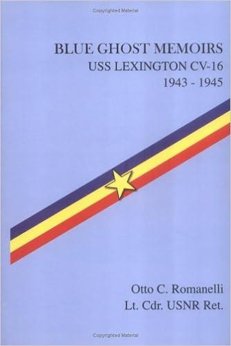 amazon blue ghost memoirs uss lexington cv 16 1943 1945 otto c