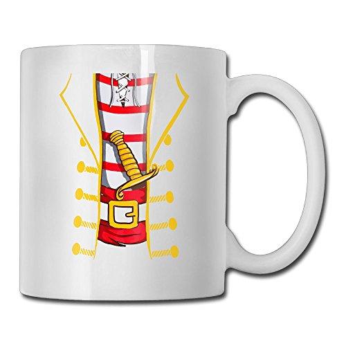 HUOPR5Q Jumbo Print Novelty Halloween Costume Unique Printed Coffee Tea Mug Cup For Men Women Office Work -