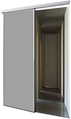 tixelia – Puerta Corredera de galandage 1 vantail diseño gris ...