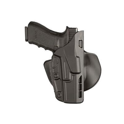 """Safariland 7378 7TS ALS Concealment Paddle & Belt Slide Holster, Glock 19, 23 4.0"""", Plain Black, Right Hand"""