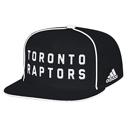 Toronto Raptors Flat (NBA Toronto Raptors Men's Fanwear Team Flat Brim Snapback Cap, One Size, Black)