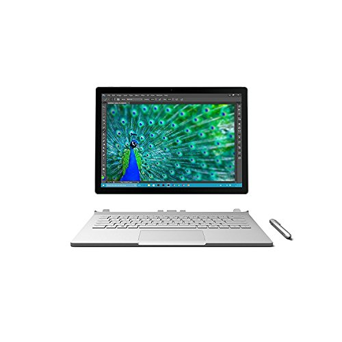 Microsoft Surface Book (256 GB, 8 GB RAM, Intel Core i7, NVIDIA GeForce graphics) (Renewed)