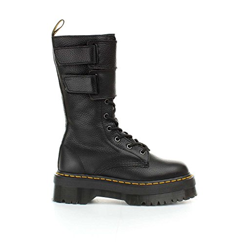 Dr. Martens Womens Jagger 10 Eye Boot, Size: 8.5 B(M) US / 6.5 F(M) UK, Color: Black Aunt Sally