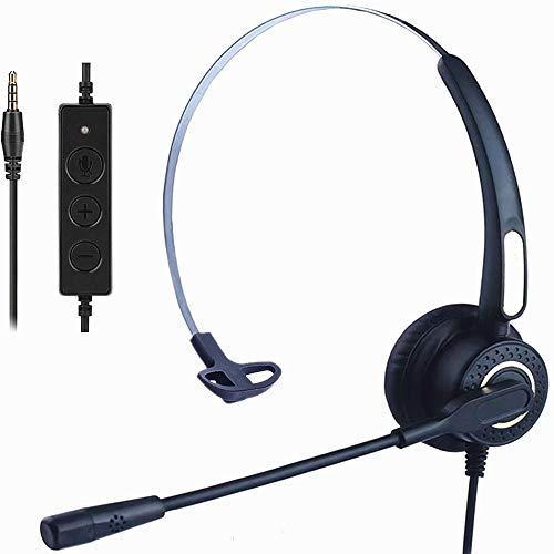 🥇 Auriculares Teléfono Móvil Dual con Cancelación de Ruido Micrófono