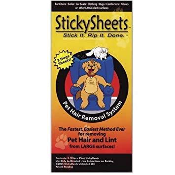 Sticky Sheets Single Sheet Pet Hair Removal System