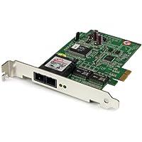 StarTech.com 1000 Mbps Gigabit Ethernet Multi Mode SC Fiber PCI Express Card - 550m (PEX1000MMSC)