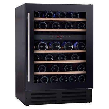 Magnum PRO-series 46-bottle Dual-zone Wine (46 Bottle Wine Cellar)