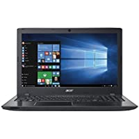 Acer Aspire E E5-575-52JF 15.6-Inch Laptop (Intel Core i5 6th generation, 4GB RAM ,1TB HHD, DVD+W Optical Drive, Windows 10 Home), Obsidian black