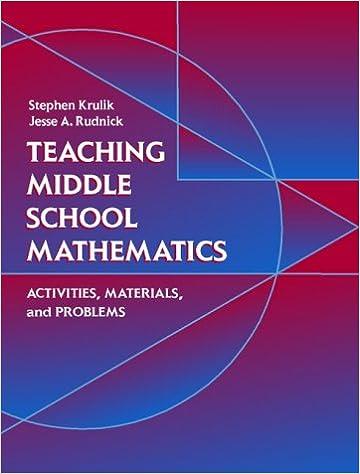 Amazon.com: Teaching Middle School Mathematics: Activities ...