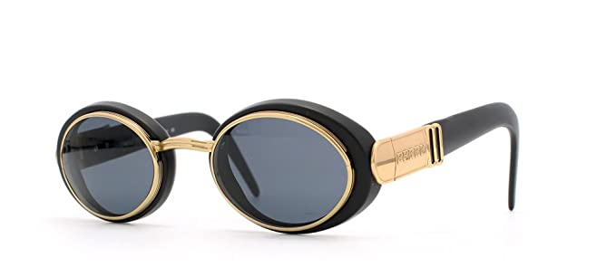6a40ef50db65 Gianfranco Ferre 327 XG1 Black and Gold Authentic Men - Women Vintage  Sunglasses