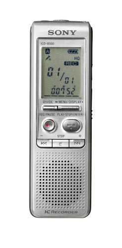 Recorder 256mb Flash Memory Lcd (Sony ICD-B500 Digital Voice Recorder with 256 MB Built-in Flash)