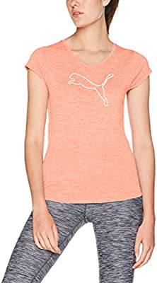 3e693101c Puma 51412123 Playera Heather Cat para Mujer, Energy Peach Heather, Grande:  Amazon.com.mx: Deportes y Aire Libre