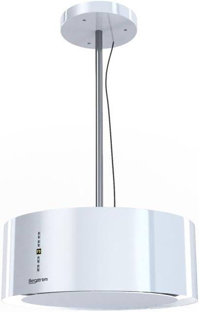 Campana extractora Isla – Campana Acero inoxidable freihängend Blanco bergstroemgn Bergstroem Clase energética A [Color Blanco]: Amazon.es: Grandes electrodomésticos
