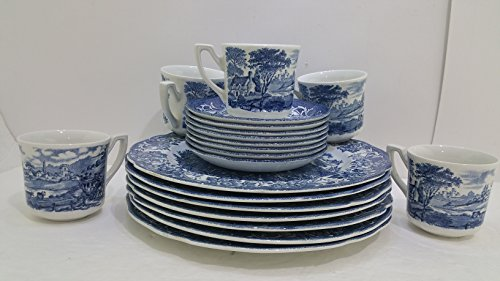 Royal Staffordshire J&G Meakin Stratford Stage Diinnerware Plates set of 20 Pieces