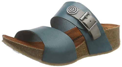 Dr. Brinkmann Womens Semelle Sandale Turquoise Turquoise