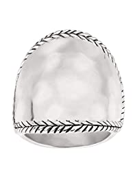 Silpada 'Braided Edge' Sterling Silver Ring