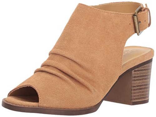 Dirty Laundry by Chinese Laundry Women's Tena Ankle Boot, Camel Suede, 7.5 M US