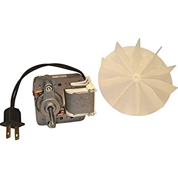 AIR KING AMERICA AS70KIT 70 CFM Advantage Bath Fan Motor/Blade Kit, Stainless  Steel