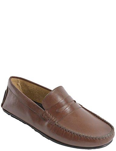 Sapato Loafer Homens Couro De Carro H50SnxpPS